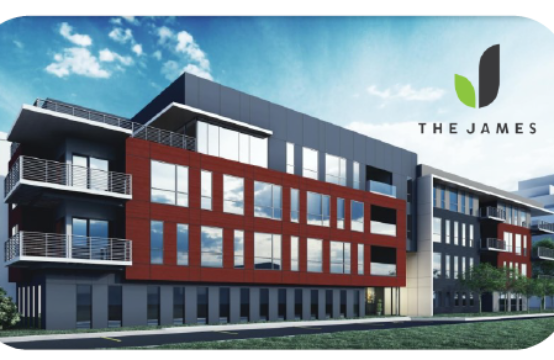 Coming Late 2022, The James on Grand